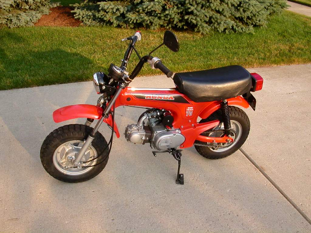 How Much Is A Paint Job >> 1982 CT70